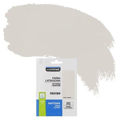 Tester farby DO ŚCIAN I SUFITÓW 25 ml Biały piasek LUXENS