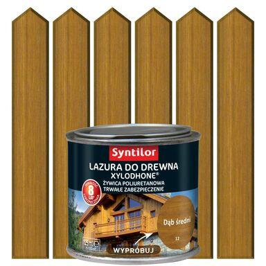 Lazura do drewna XYLODHONE HP 0.12 l  Dąb średni SYNTILOR