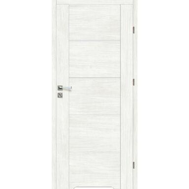 Skrzydło drzwiowe z podcięciem wentylacyjnym Malibu Bianco 90 Prawe Artens