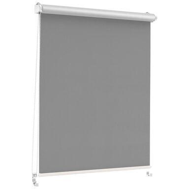 Roleta zaciemniająca Silver Click 93.5 x 150 cm grafitowa termoizolacyjna