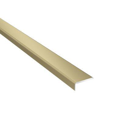 Profil podłogowy zakończeniowy No.27 Złoty 25 x 10 x 1000 mm Artens