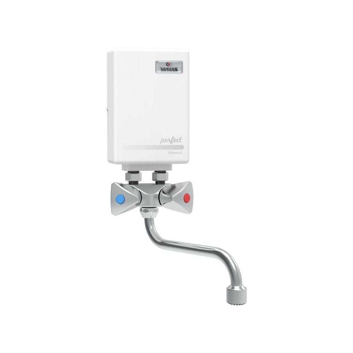 Elektryczny Przeplywowy Ogrzewacz Wody Perfect 400 Wijas Ogrzewacze Przeplywowe W Atrakcyjnej Cenie W Sklepach Leroy Merlin