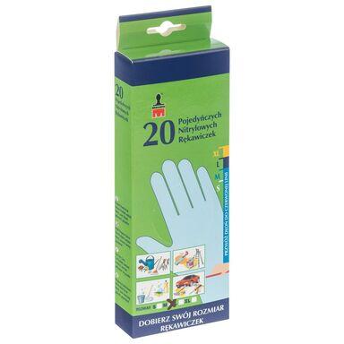 Rękawice ochronne NITRYLOWE MALWO