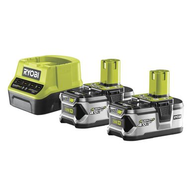 Zestaw akumulator i ładowarka RC18120-240  18 V  4 Ah RYOBI
