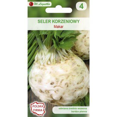 Seler korzeniowy MAKAR nasiona tradycyjne 1 g W. LEGUTKO