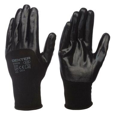 Rękawice ochronne r. 8 czarne DEXTER