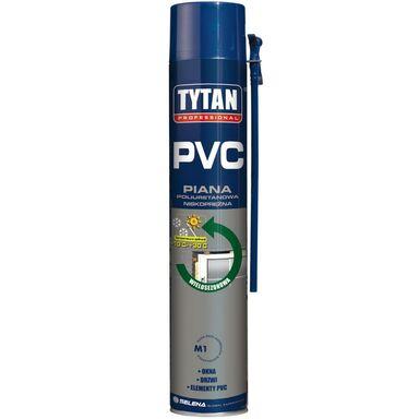 Pianka poliuretanowa wężykowa PVC Wielosezonowa 750 ml TYTAN PROFESSIONAL