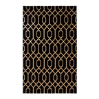 Dywan Tyro czarny 120 x 170 cm