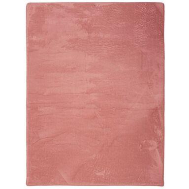 Dywan shaggy Smothy jasnoróżowy 50 x 80 cm