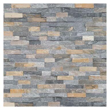 Kamień naturalny Łupek Grafit 40 x 10 cm 0.396m2 Steinblau