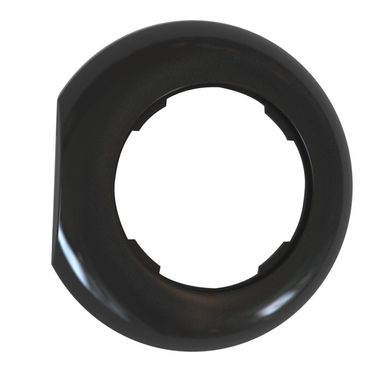 Ramka pojedyncza LF1001B LOFT KOŃCOWA czarny DPM
