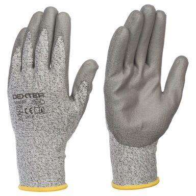 Rękawice ochronne r. 10 powlekane HPPE DEXTER