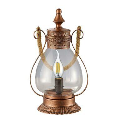 Lampa stołowa LINDA miedź E14 TRIO LIGHTING INTER