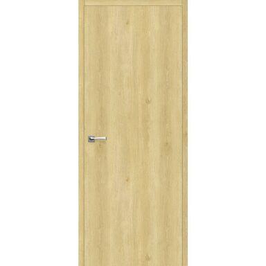 Skrzydło drzwiowe pełne bezprzylgowe Revers Dąb piaskowy 70 Uniwersalne wysokość 220 cm Artens