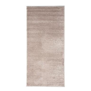 Chodnik dywanowy beżowy YAZZ  80 x 170 cm