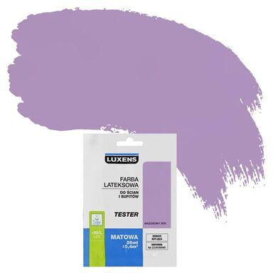 Tester farby DO ŚCIAN I SUFITÓW 25 ml Wrzosowy sen LUXENS