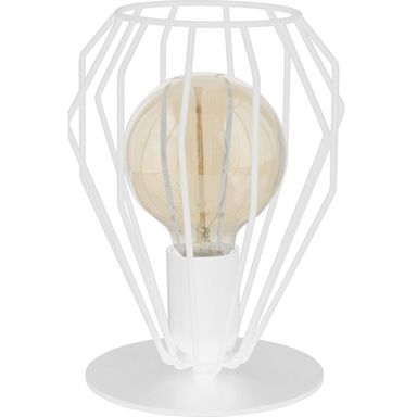 Lampa stołowa BRYLANT biała E27 TK LIGHTING