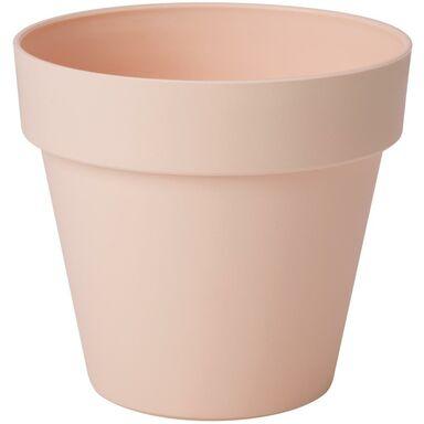 Doniczka plastikowa 14 cm różowa IBIZA