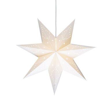 Gwiazda wisząca 45 cm biała SATURN
