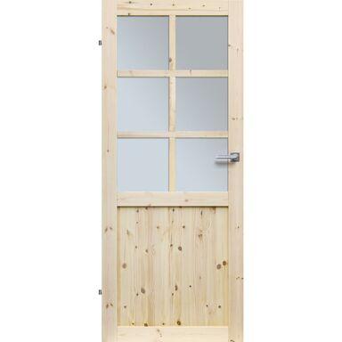 Skrzydło drzwiowe drewniane pokojowe Eko 80 Lewe Radex