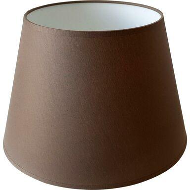 Abażur 9054 owalny 29-39.5 x 30 cm tkanina brąz E27 TK LIGHTING