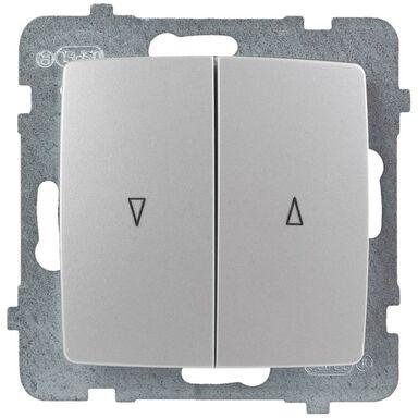 Włącznik żaluzjowy KARO  perłowy  OSPEL