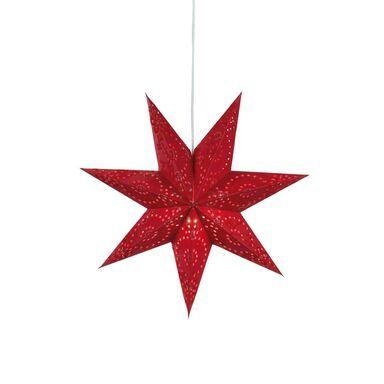Gwiazda wisząca 45 cm czerwona ARATORP