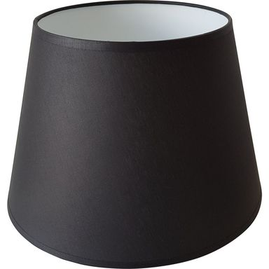 Abażur 9052 owalny 29-39.5 x 30 cm tkanina czarny E27 TK LIGHTING