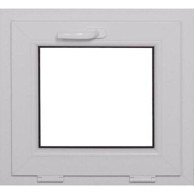 Okno PCV 2-szybowe O1 Białe 565 x 535 mm