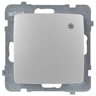 Włącznik krzyżowy KARO  perłowy  OSPEL
