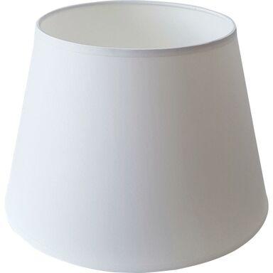 Abażur 9050 owalny 29-39.5 x 30 cm tkanina biały E27 TK LIGHTING