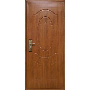 Drzwi wejściowe TORINO Złoty dąb 80 Prawe