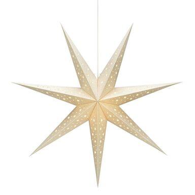 Gwiazda stojąca 75 cm złota SOLVALLA