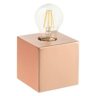Lampa stołowa SCALY 60W E27 miedzana INSPIRE