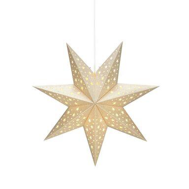 Gwiazda wisząca 45 cm złota SOLVALLA