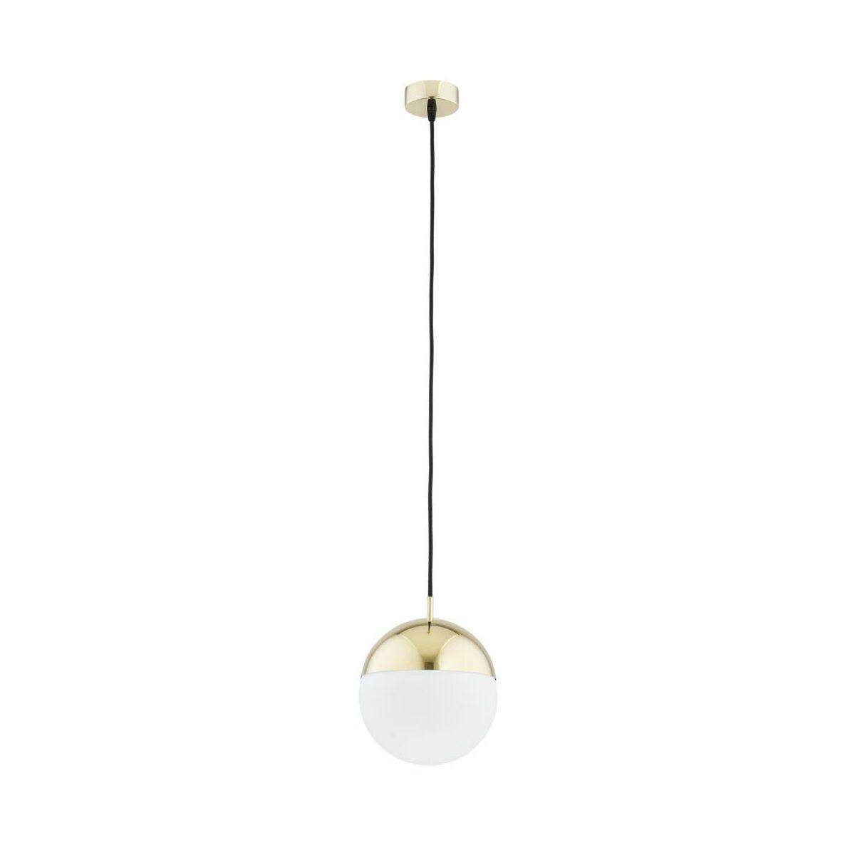 Lampa wisząca LIVIA IP22 biało złota E27 PREZENT