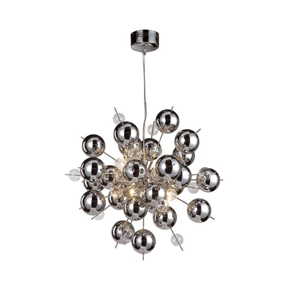 Lampa Wiszaca Glasball Chrom G9 Nave Zyrandole Lampy Wiszace I Sufitowe W Atrakcyjnej Cenie W Sklepach Leroy Merlin