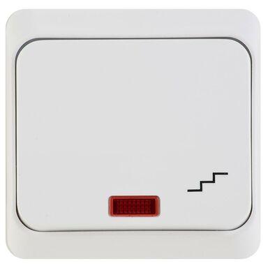 Włącznik schodowy PRIMA  Biały  SCHNEIDER ELECTRIC