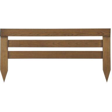 Płotek rabatowy 60 x 30/15 cm drewniany NIVE NATERIAL