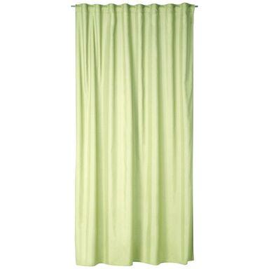 Zasłona BLUEBERRY zielona 200 x 280 cm na taśmie INSPIRE