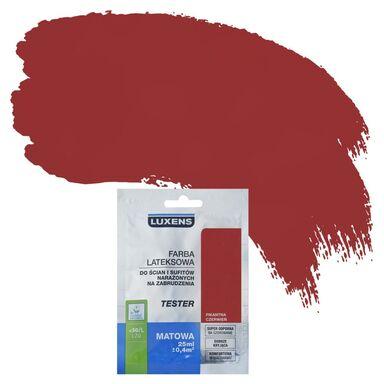 Tester farby DO ŚCIAN I SUFITÓW NARAŻONYCH NA ZABRUDZENIA LUXENS