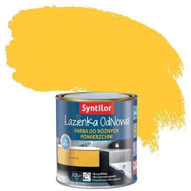 Farba do różnych powierzchni ŁAZIENKA ODNOWA 0.5 l Żółty słoneczny SYNTILOR