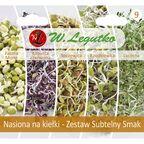 Zestaw subtelny smak nasiona na kiełki W. LEGUTKO
