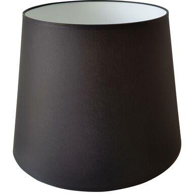 Abażur 9912 owalny 20-30 x 20 cm tkanina czarny E27 TK LIGHTING