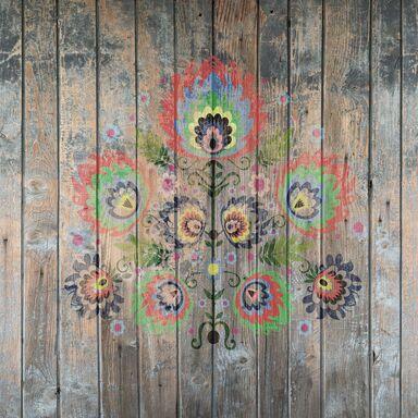 Panel kuchenny szklany FOLK 60 x 60 cm ALFA-CER