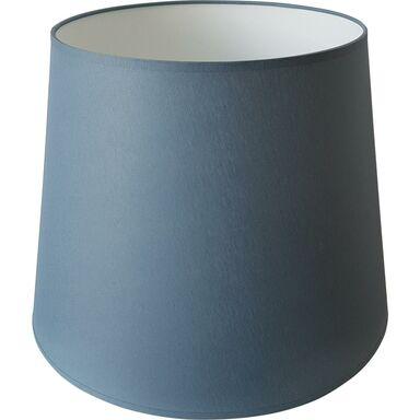 Abażur 9998 owalny 20-25 x 20 cm tkanina niebieski E27 TK LIGHTING