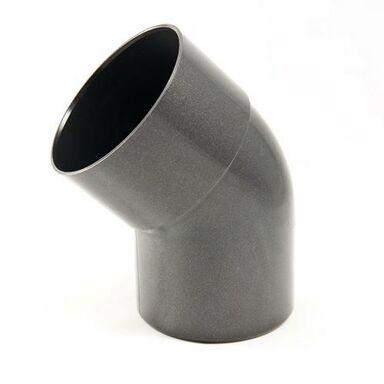 Kolanko rynnowe 80 mm/45° Grafitowe SCALA PLASTICS