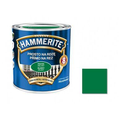 Farba antykorozyjna PROSTO NA RDZĘ 0.7 l Zielony Połysk HAMMERITE