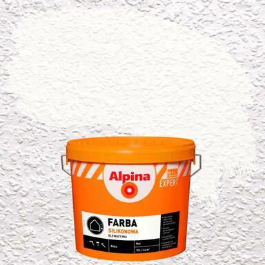 Farba elewacyjna akrylowa SILIKONOWA EXPERT Biały ALPINA