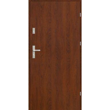 Drzwi wejściowe CASTELLO BASIC Orzech 80 Prawe EVOLUTION DOORS